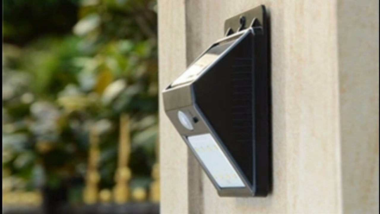Светодиодный светильник с датчиком