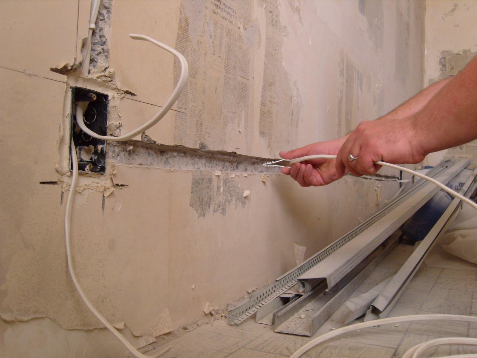 Как сделать ремонт электропроводки в квартире?