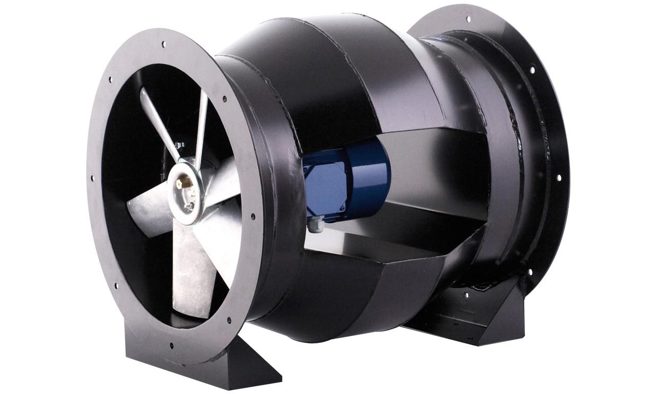 Круглые канальные вентиляторы как часть системы вентиляции