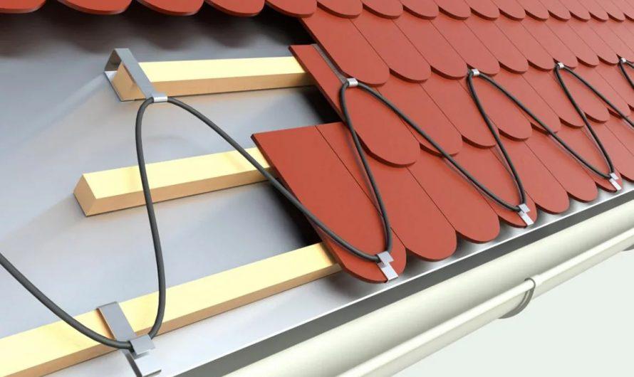 Система антиобледенения – крыша без сосулек